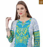 STYLISH BAZAAR PRESENTATION PLEASING DESIGNER COTTON KURTI DESIGN RTEMP1022