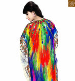 FROM THE HOUSE OF STYLISH BAZAAR ENTICING DESIGNER PARTY WEAR KAFTAN SKKF1023