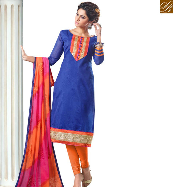 STYLISH BAZAAR FASHIONABLE PAKISTANI STYLE STRAIGHT CUT SALWAR SUIT VDANT10246