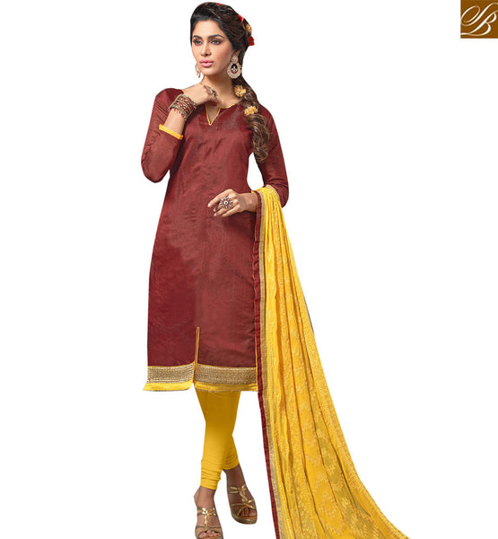 STYLISH BAZAAR ELITE DESIGNER STRAIGHT CUT PUNJABI SUIT DESIGN VDANT10249