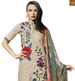 FROM STYLISH BAZAAR GORGEOUS PAKISTANI STYLE DESIGNER SALWAAR SUIT DESIGN VDBLU10256