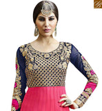 FROM THE HOUSE BY STYLISH BAZAAR GRAND EMBROIDERED SALWAR ANARKALI SUIT TYPE DRESS DESIGN VDSKN10266