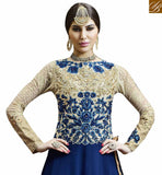 BROUGHT TO YOU BY STYLISH BAZAAR IDEAL PARTY WEAR DESIGNER FLOOR TOUCHING ANARKALI SALWAR KAMEEZ VDSKN10267