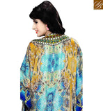 STYLISH BAZAAR INTRODUCES GORGEOUS DESIGNER KAFTAN DESIGN FOR PARTIES SKKF1027