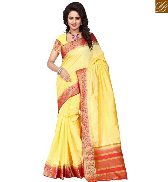 STYLISH BAZAAR MAGNIFICENT DESIGNER PRINTED SAREE WITH MATCHING BLOUSE PIECE VDBIT10271
