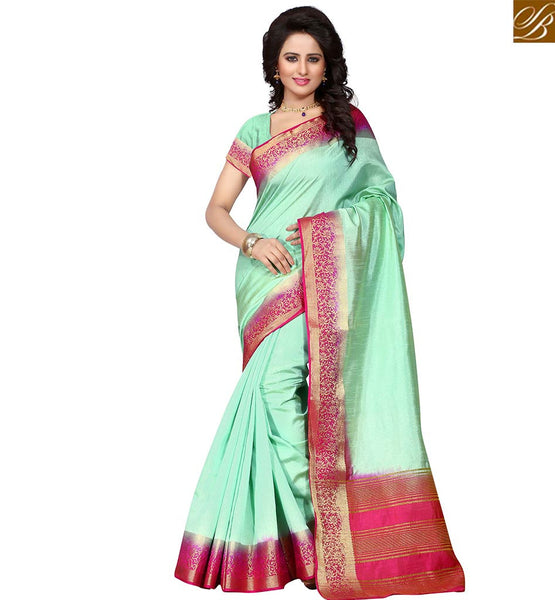 STYLISH BAZAAR RAVISHING PARTY WEAR SARI BLOUSE DESIGN VDBIT10278