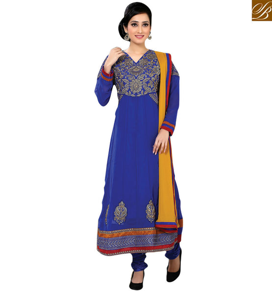FROM THE HOUSE OF STYLISH BAZAAR BEAUTIFUL EMBROIDERY WORK SUIT FOR WOMAN RTFIB1028