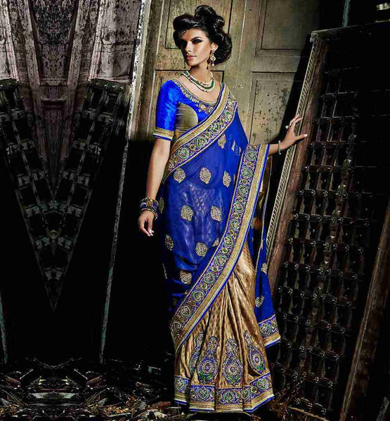 STYLISH BLOUSE DESIGN HALF SLEEVE CHOLI FOR INDIAN WOMEN IN SAREE
