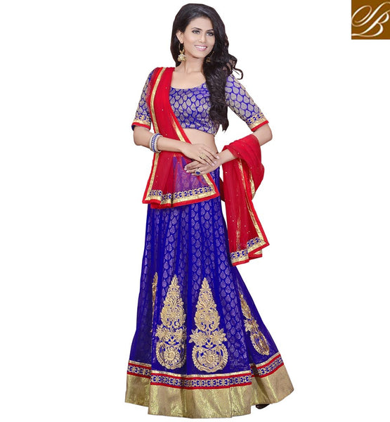 BUY CHEAP CHANIYA CHOLI ONLINE IN INDIA TO WEAR AT WEDDING FUNCTIONS