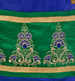 Green Santoon churidar bottom. Matching nazneen dupatta with lace border Pic