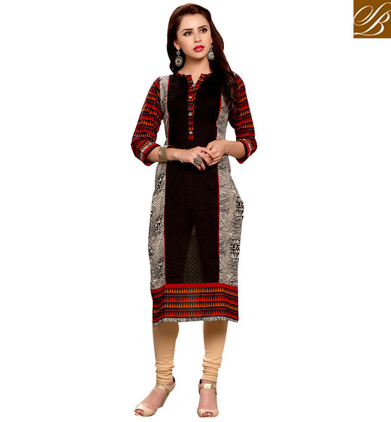 STYLISH BAZAAR RAVISHING DESIGNER ONLINE KURTI DESIGN RTEMP1030