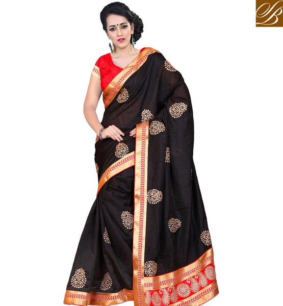 STYLISH BAZAAR PHENOMENAL INDIAN SARI BLOUSE DESIGN FASHION VDJAI10310