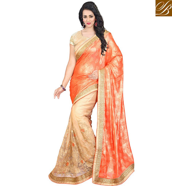 STYLISH BAZAAR PROMISING DESIGNER INDIAN SAREE INDIAN SHOPPING VDJAI10315