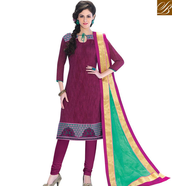 STYLISH BAZAAR ATTRACTIVE PUNJABI STRAIGHT CUT SALWAAR SUIT VDCRF1031
