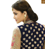 FROM STYLISH BAZAAR BEAUTIFUL FEATURING DESIGNER SAREE WITH WELL DESIGNED BLOUSE VDGRC10391