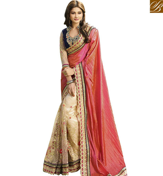 STYLISH BAZAAR BEAUTIFUL FEATURING DESIGNER SAREE WITH WELL DESIGNED BLOUSE VDGRC10391