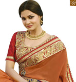STYLISH BAZAAR PRESENTATION ATTRACTIVE EMBROIDERED PARTY WEAR SAREE VDGRC10394
