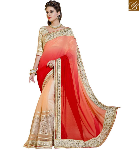 MAGNETIC DESIGNER PARTY WEAR SARI RTANT103 BY STYLISH BAZAAR