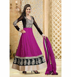 FULL LENGTH DESINER PINK GEORGETTE SALWAR KAMEEZ RTAT103 - STYLISHBAZAAR - Designer Party Wear Salwar Kameez, Salwar kameez for Parties, Partywear Salwar Kameez, Anakali suits, Designer Anarkali Suits, Partywear Anarkalis, Zariwork Salwar Suits, Stone Work Salwar Kameez,