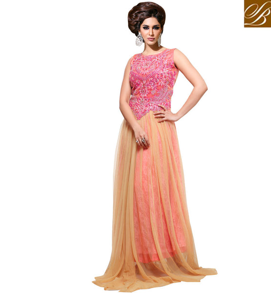 NET OCCASION WEAR DRESS VDSMR1041