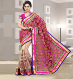 PARTY WEAR SAREE BLOUSE ONLINE SHOPPING IN INDIA TISSUE FABRIC SARI WITH PURE DUPION BLOUSE