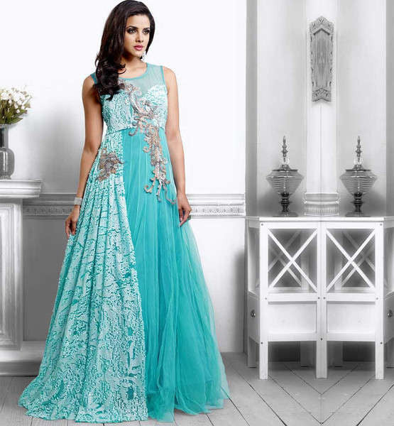 Indian Wedding Gowns. Styl Inc Wedding Stylists Indian Evening Gowns ...