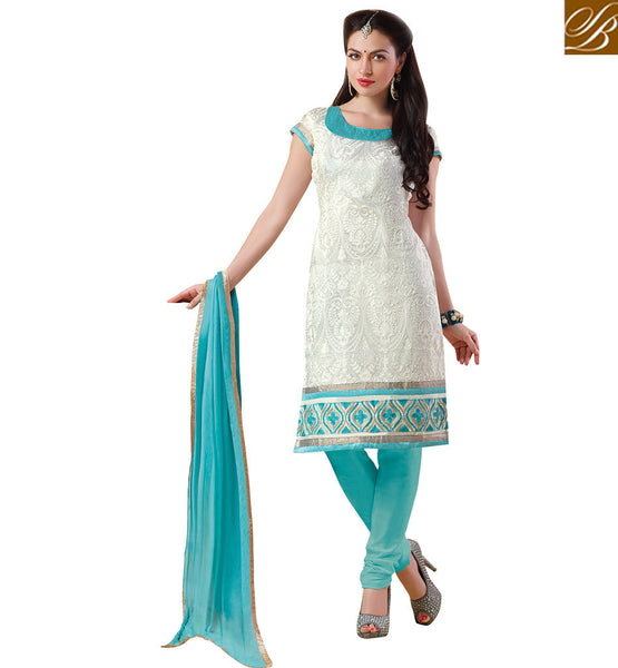 BROUGHT TO YOU STYLISH BAZAAR GORGEOUS SALWAAR KAMEEZ DESIGN FOR PARTIES VDCRF1044