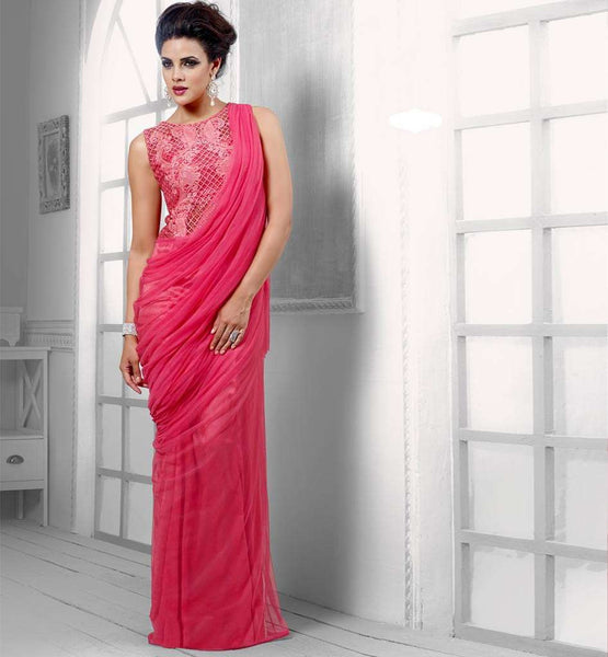 PEPPY PINK GOWN VDPAK1045