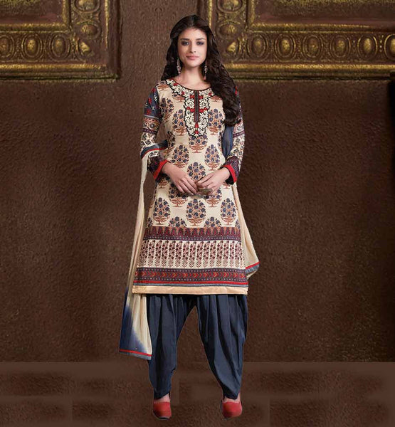 STYLISH COMFORTABLE CAMBRIC COTTON SALWAR SUIT COLLECTION FOR WOMEN