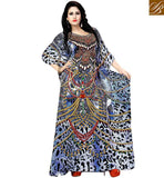 FROM THE HOUSE  OF STYLISH BAZAAR OUTSTANDING DIGITAL PRINT KAFTAN STYLE FOR PARTIES SKKF1013