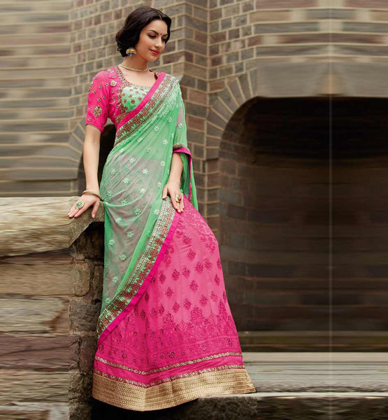 Kimora 105 Wedding Lehenga Saree