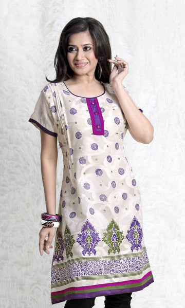 Off white kurti online shopping india