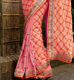 COOL ORANGE WEDDING SARI KIMSA106