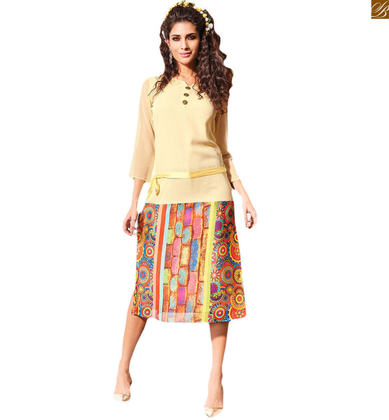 STYLISH BAZAAR LATEST WELL DESIGNED KURTI WITH DIGITAL PRINT RTVIN106
