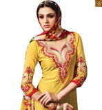 FROM THE HOUSE OF STYLISH BAZAAR TRENDY YELLOW COLORED DESIGNER SALWAR KAMEEZ RTSRH107
