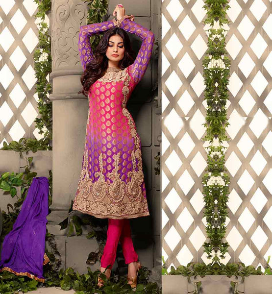 "CELEBRITY DRESSES SHOP ONLINE PARTY WEAR SALWAR SUIT HIT BOLLYWOOD MOVIE ""FALTU"" FAME PUJA GUPTA LOVELY DRESS"