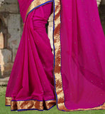 FABULOUS  SAME COLOR SAREE BLOUSE COMBINATION  CASUAL SAREE WITH BLOUSE ONLINE SHOPPING IN INDIA