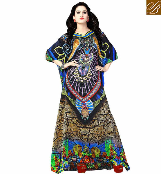 WELL DESIGNED DESIGNER KAFTAN DESIGN FOR PARTIES SKKF1015 BY STYLISH BAZAAR