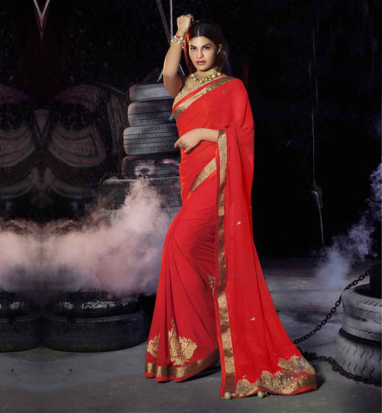 SAREE BLOUSE DESIGNS 2015 DRESS UP BY BOLLYWOOD ACTRESSES JACQUELINE FERNANDEZ MAROON	CREAM GEORGETTE ART SILK NET JACQUARD SARI JACKET DESIGNS 2015LATEST FASHION PARTY WEAR CELEBRITY STYLE COLLECTION HEROIN STYLE
