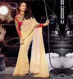 BOLLYWOOD SAREE JACKET FASHION DESIGNER ETHNIC WEAR AT BEST RATES