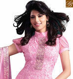 LOVELY LIGHT PINK OCCASION WEAR SALWAR KAMEEZ