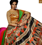 BEAUTIFUL MULTI COLORED DESIGNERS LEHENGA CHOLI VDKLR10886