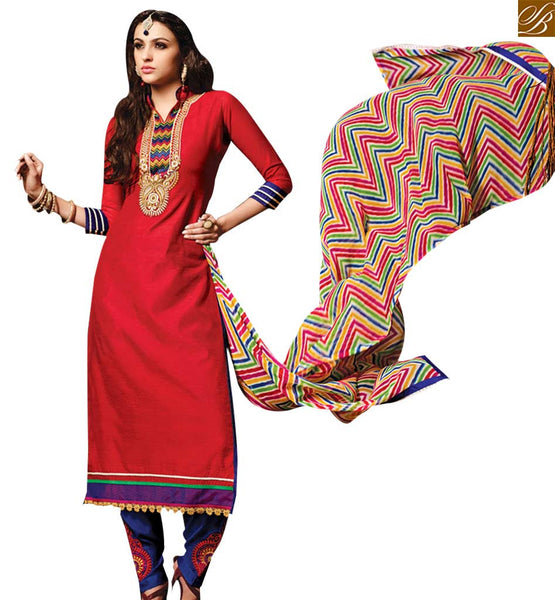STYLISH BAZAAR GOOD LOOKING MAROON COLORED SALWAR SUIT RTSRH108