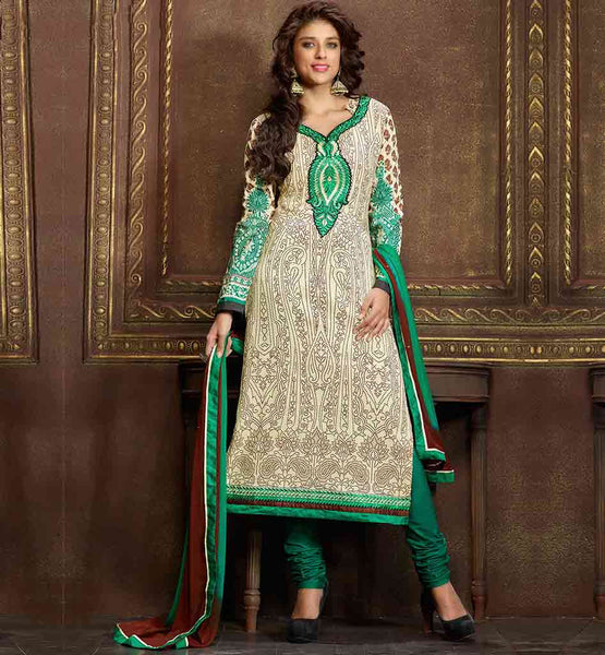 STYLISH BAZAAR LATEST WOMEN'S COTTON PARTY WEAR SALWAR SUIT DESIGNS