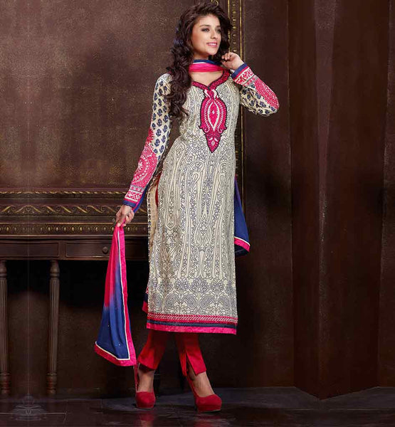 STYLISH BAZAAR LATEST PREMIUM COTTON MATERIAL SALWAR SUIT PATTERNS