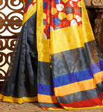 MULTICOLOR ART-SILK CASUAL WEAR SAREE RTMS10908