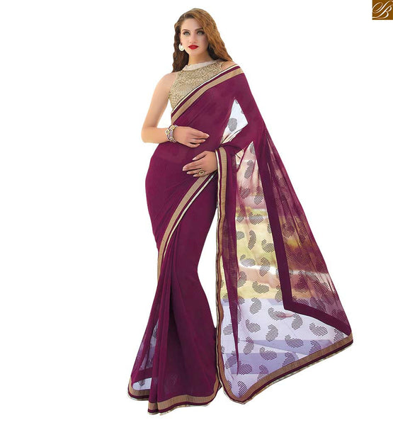 DESIGNER PARTY SAREES COLLECTION WITH STYLISH BLOUSE DESIGN | FABULOUS CHOICE FROM OUR GEORGETTE DESIGNER PARTY SAREES COLLECTION WITH NICE LOOKING STYLISH BLOUSE DESIGN