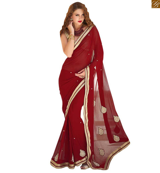 STYLISH BLOUSE DESIGNS WITH BORDER  DESIGNER SAREES COOL COMBINATION, AWESOME LOOKING  STYLISH BLOUSE DESIGNS WITH BORDER  PAIRED WITH STUNNING DESIGNER SAREES COOL COMBINATION ONLINE INDIA