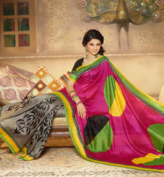 IRRESISTIBLE ART-SILK CASUAL WEAR SAREE RTMS10930