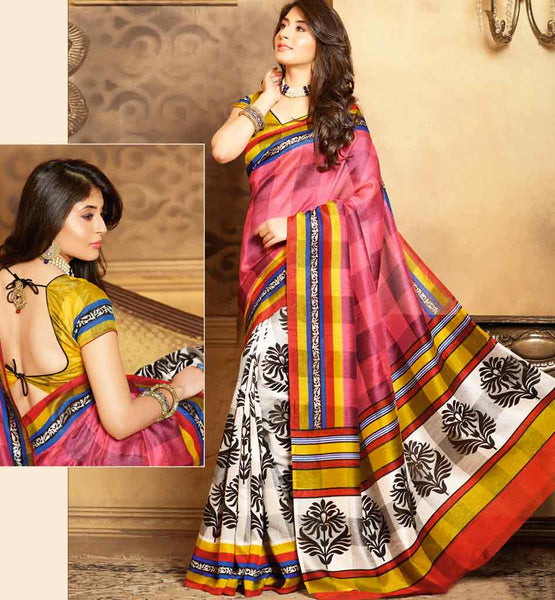 CAPTIVATING ART-SILK CASUAL WEAR SAREE RTMS10937